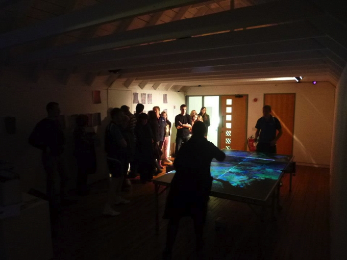 Opening Night Bonhoga Gallery