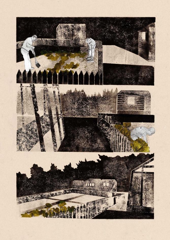 Writers Retreat Print by Emma Dragovic