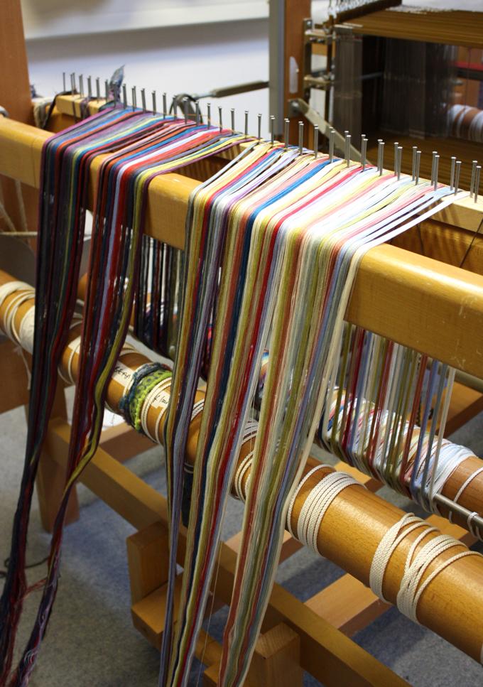 Margo Selby Textiles Loom