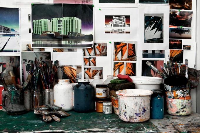 Phil Ashcroft studio photo Joe Plommer