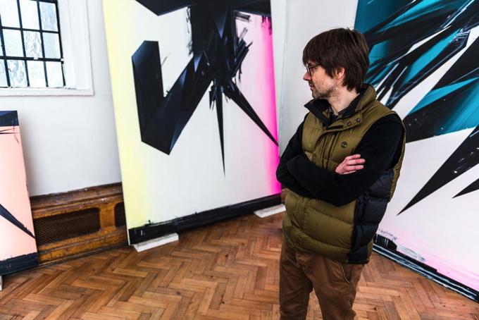 Phil Ashcroft studio 2 photo Joe Plommer