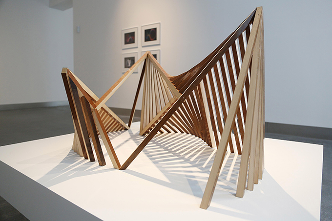 'Poème électronique, Revealed Structure, Raydale Dower; Photo: Janet Wilson.