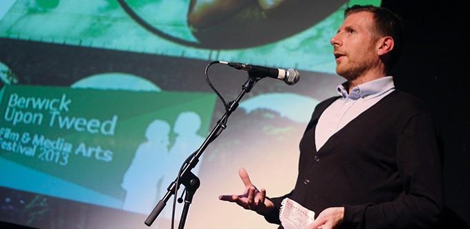 Danny Leigh at Berwick Film & Media Arts Festival 2013 - Photo: Will Sadler