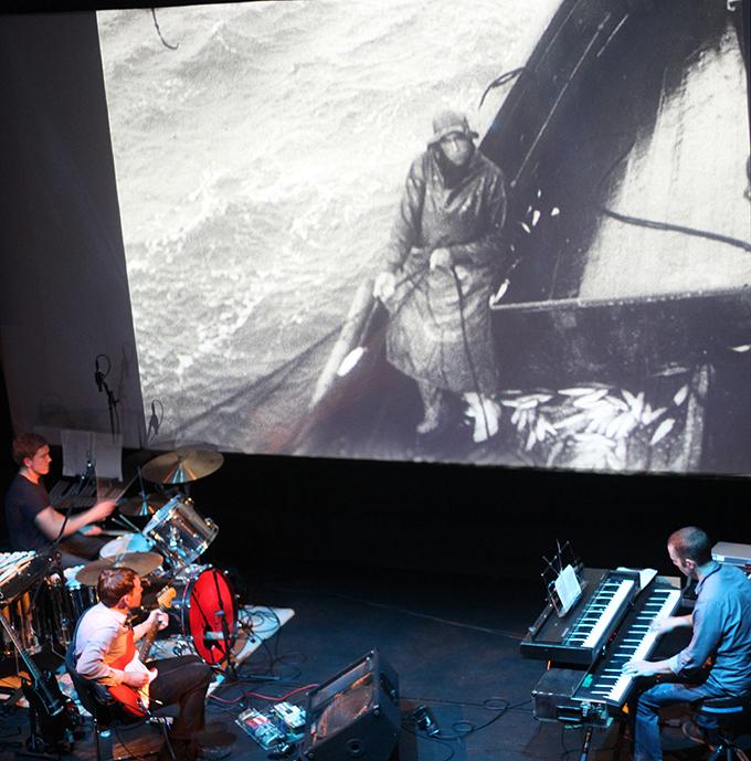 Field Music perform score to John Grierson's film Drifters - Photo: Will Sadler