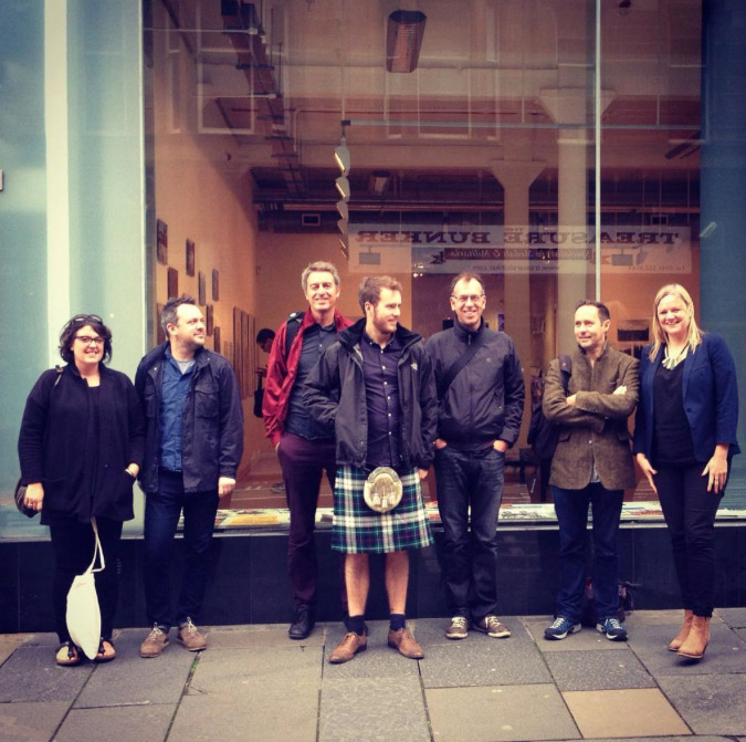 A Fine Beginning & Document Scotland - Photo: Audrey Gillan