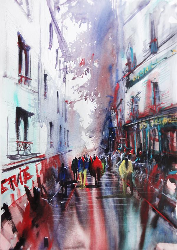 nicolas jolly watercolour