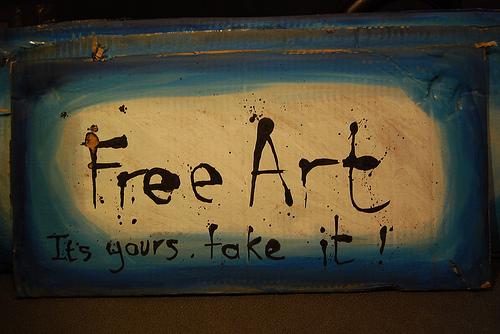 free art sign